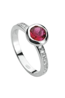 Silver Trends ST480 Ring W56 rot