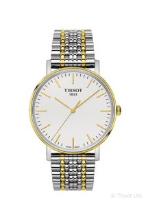 TISSOT Everytime Medium Herrenuhr bicolor