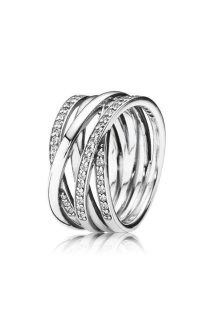 PANDORA Ring Entwined W56