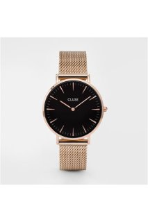 CLUSE Boho Chic Mesh Rose Gold/Black