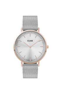 CLUSE Boho Chic Mesh Rose Gold/Silver
